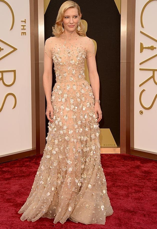 Cate Blanchett 2014 Oscars Armani