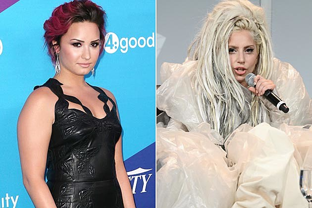 Demi Lovato Lady Gaga Glamorize Eating Disorder