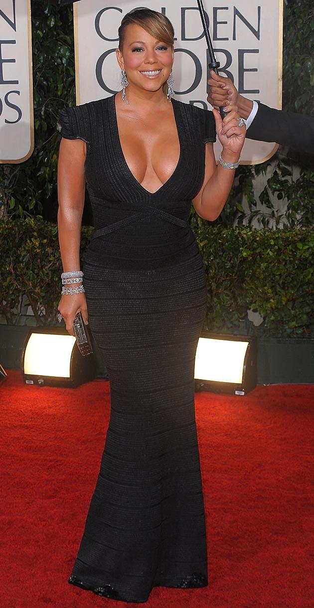Mariah Carey Herve Leger Max Azria 2010