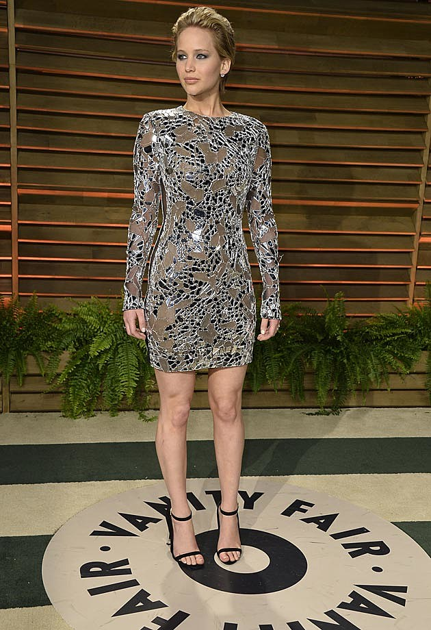 Jennifer Lawrence Vanity Fair Oscar Party