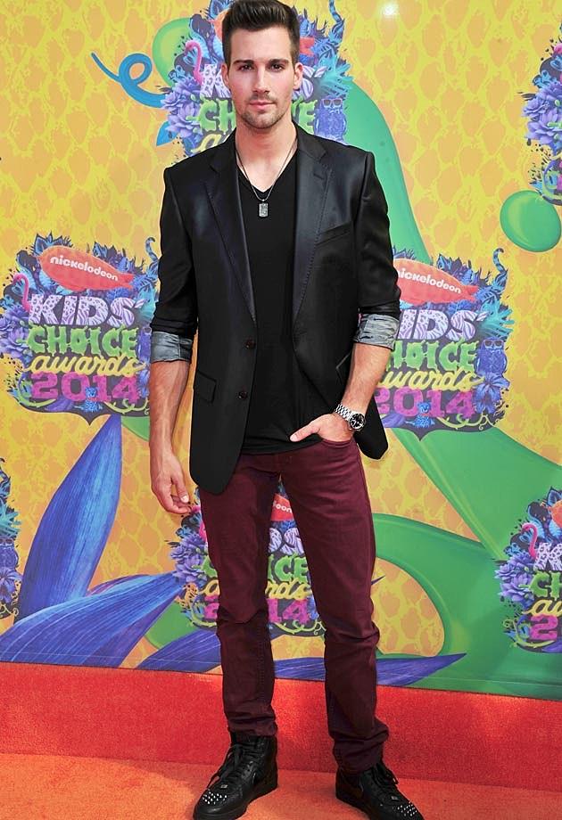 James Maslow 2014 Kids Choice Awards