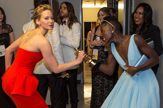 Jennifer Lawrence Lupita Nyongo