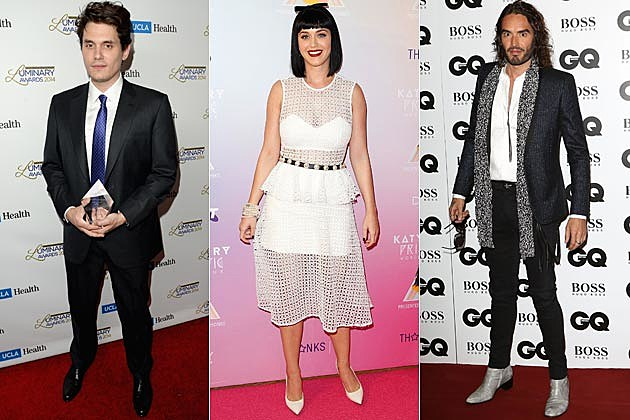 John Mayer Katy Perry Russell Brand