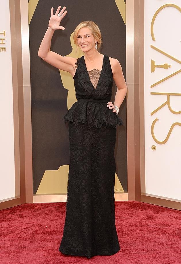 Julia Roberts 2014 Oscars Givenchy