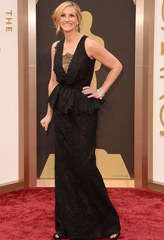 Julia Roberts Givenchy 2014 Oscars