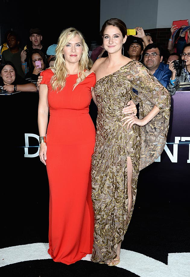 Shailene Woodley Kate Winslet Divergent Premiere
