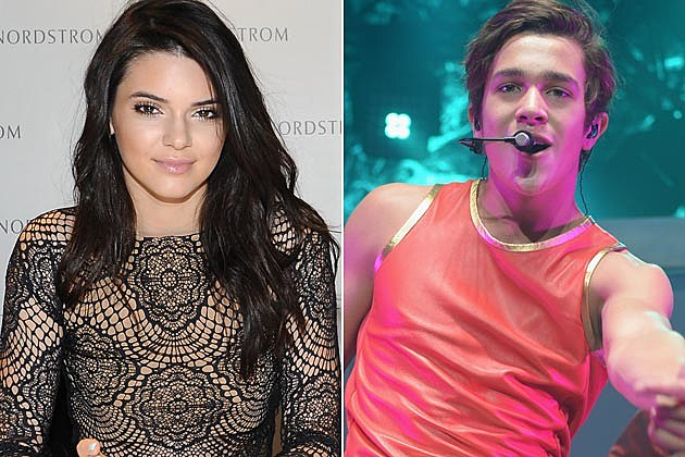 Kendall Jenner Austin Mahone Celebs Eating