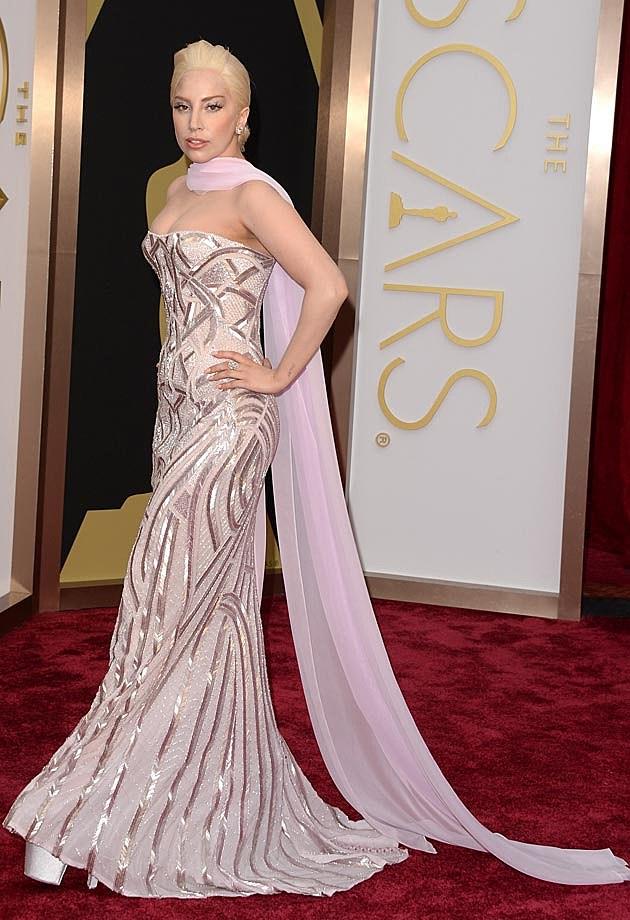 Lady Gaga 2014 Oscars