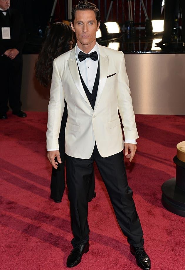 Matthew McConaughey 2014 Oscars