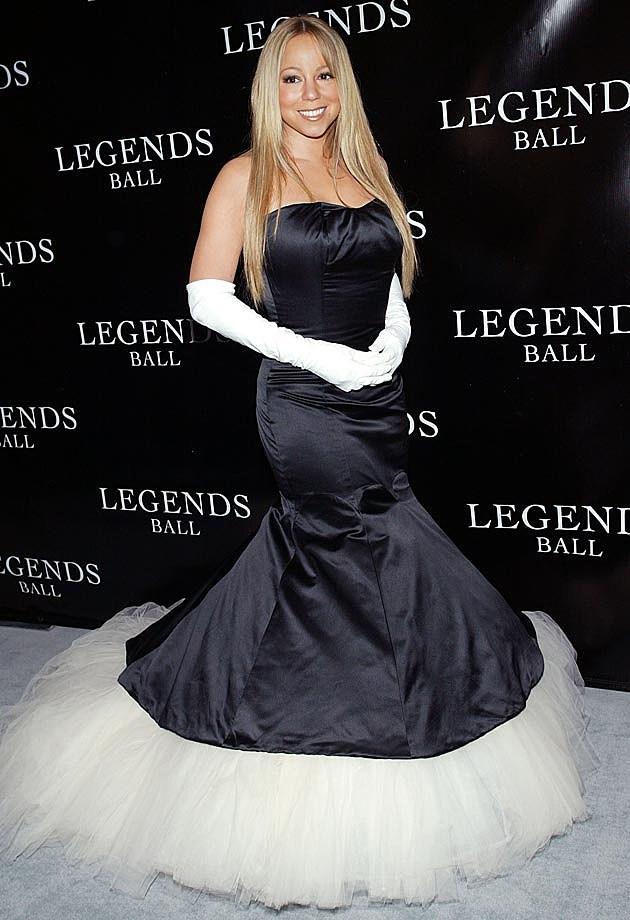 Mariah Carey Gown 2005