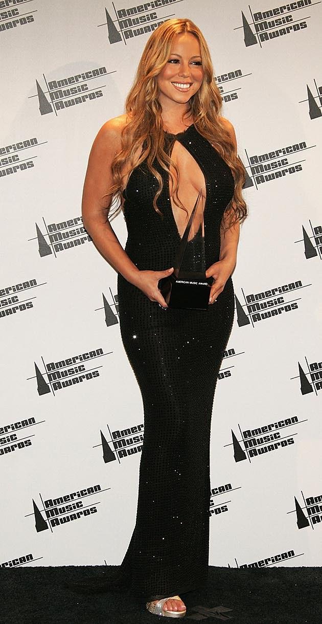 Mariah Carey Sideboob Gown 2005