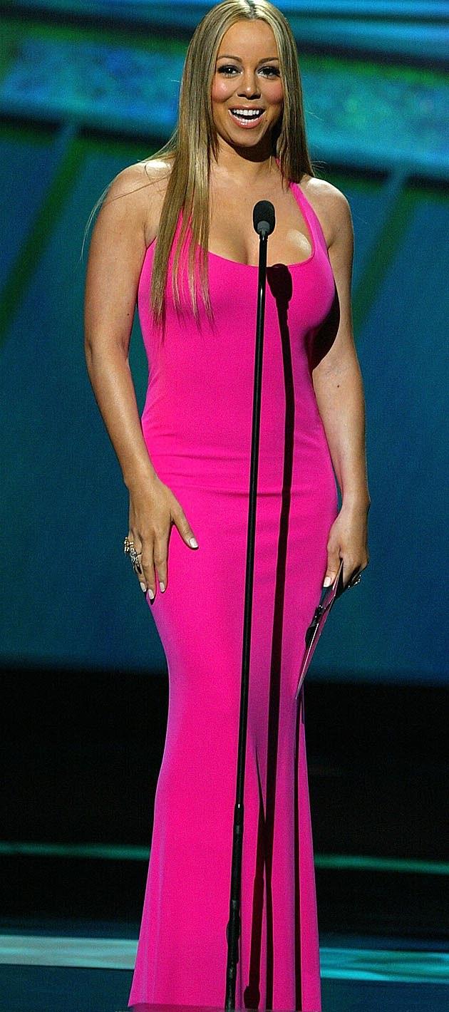 Mariah Carey Pink Dress 2006