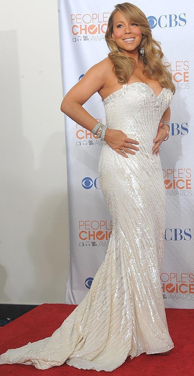 Mariah Carey 2010 Gown