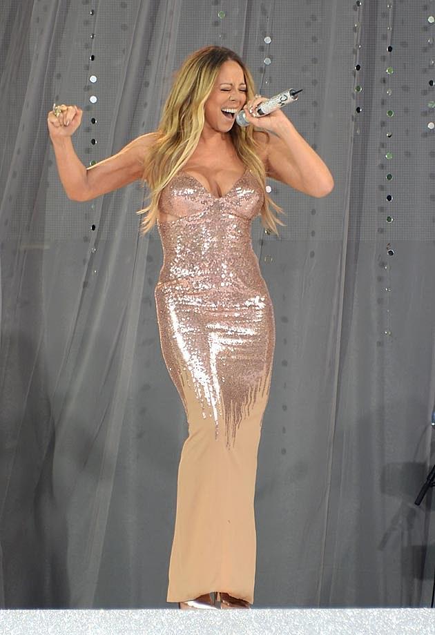 Mariah Carey Versace 2013