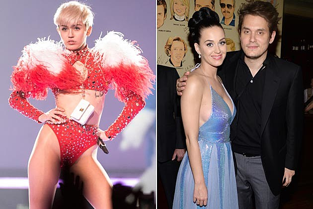 Miley Cyrus Disses Katy Perry John Mayer