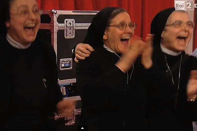 Nuns The Voice Italy