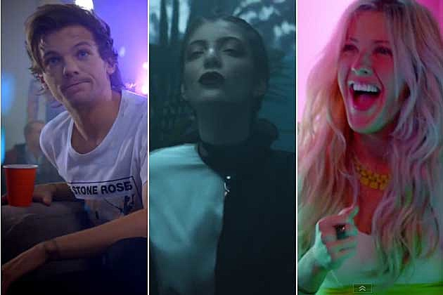 One Direction Lorde Ellie Goulding