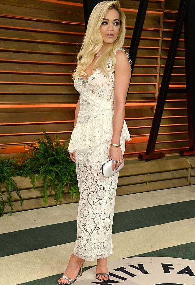 Rita Ora 2014 Vanity Fair Oscar Party