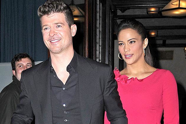 Robin Thicke Paula Patton Possible Reunion