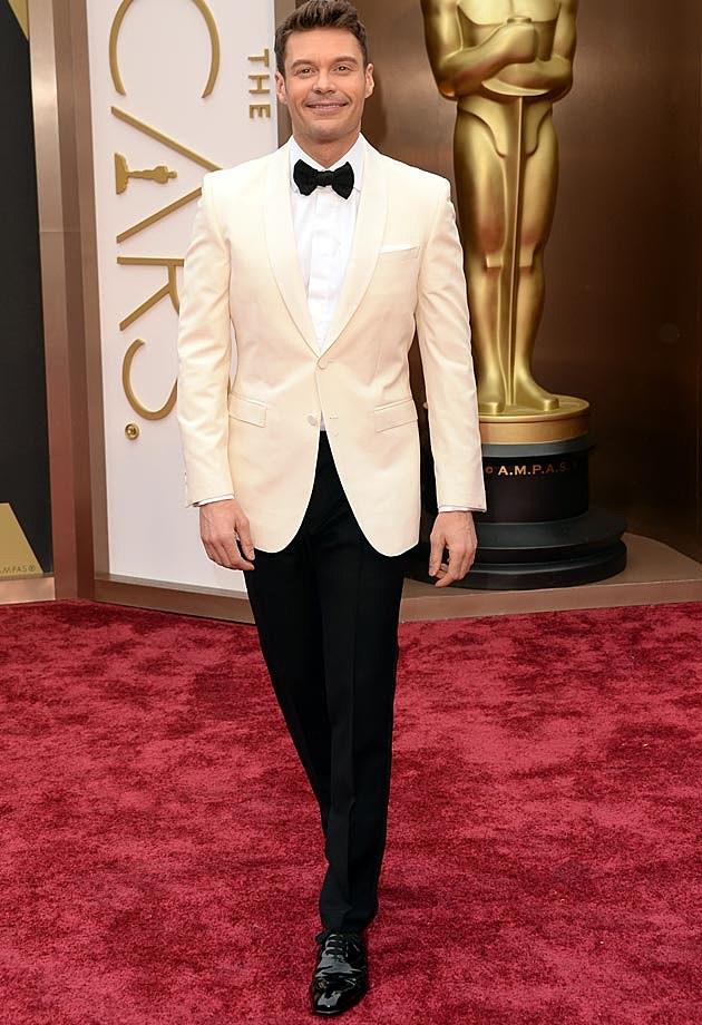 Ryan Seacrest 2014 Oscars