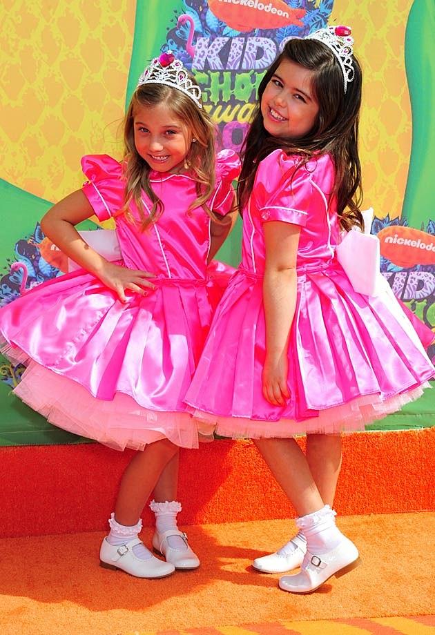 Sophia Grace + Rosie 2014 Kids Choice
