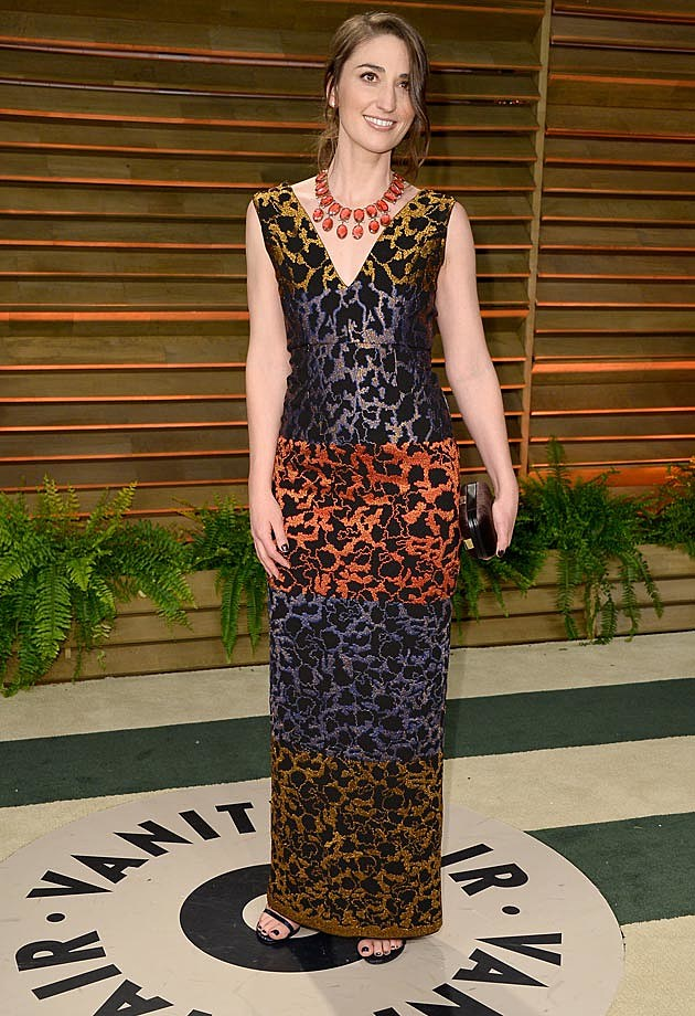 Sara Bareilles 2014 Oscar Vanity Fair Party