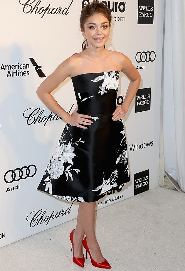 Sarah Hyland 2014 Elton John Oscar Party