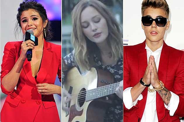 Selena Gomez Leighton Meester Justin Bieber