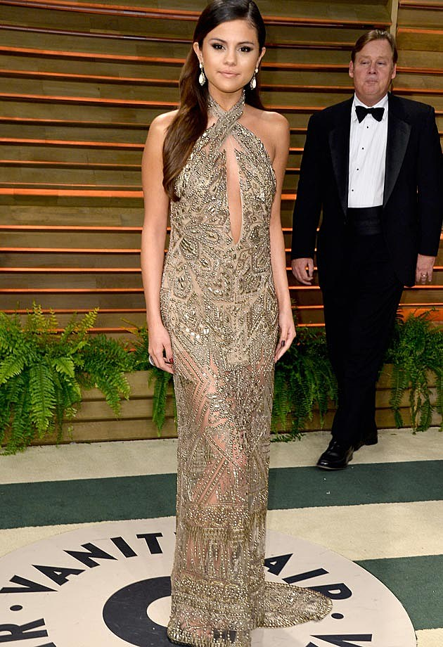 Selena Gomez 2014 Vanity Fair Oscar Party