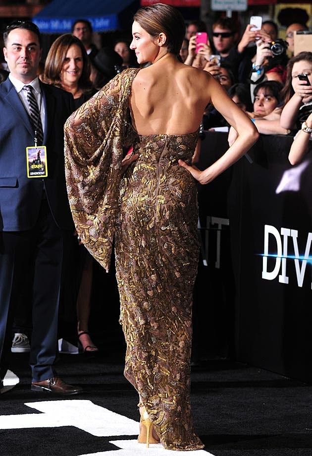 Shailene Woodley Divergent Premiere Elie Saab