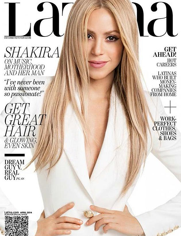 Shakira Latina Cover