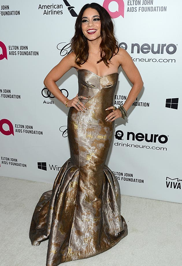 Vanessa Hudgens 2014 Elton John Oscar Party