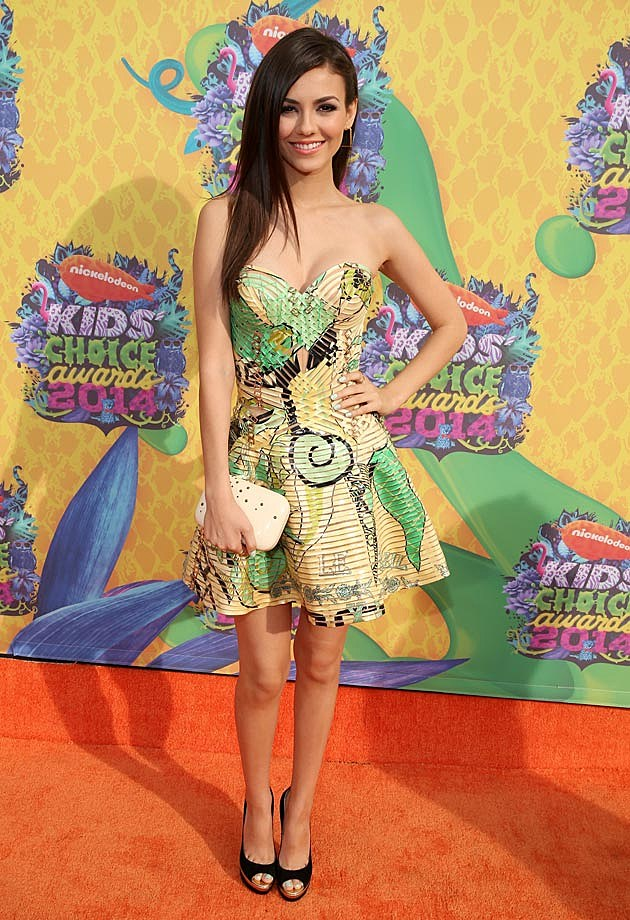 Victoria Justice 2013 Kids Choice Awards
