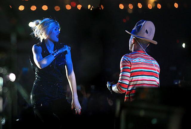 Gwen Stefani & Pharrell
