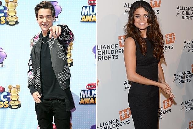Austin Mahone Selena Gomez