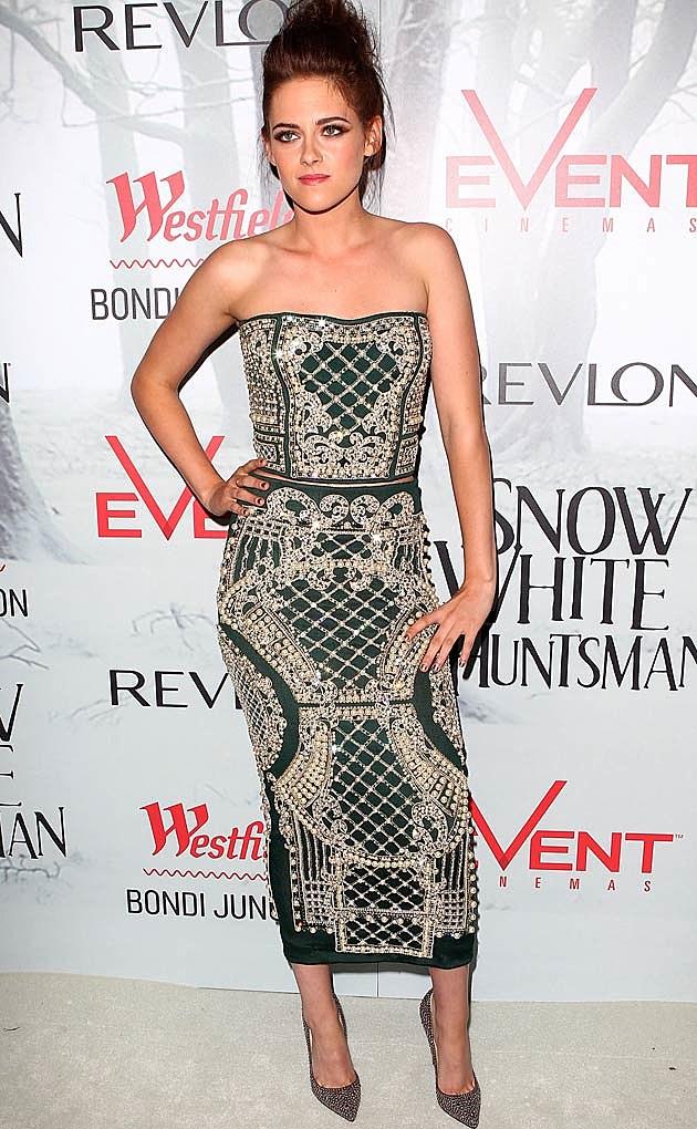 Kristen Stewart Balmain