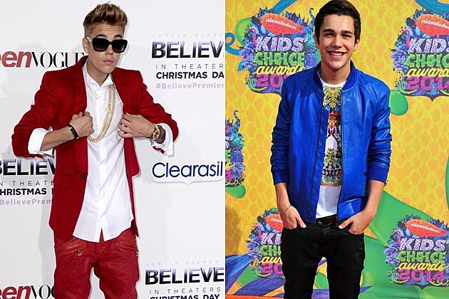 Justin Bieber Austin Mahone Collabo