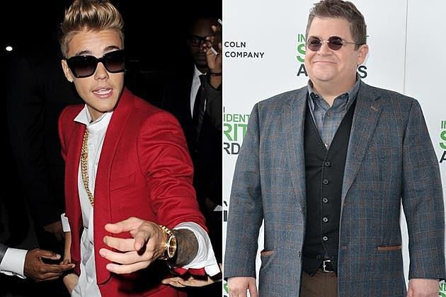 Justin Bieber Patton Oswalt