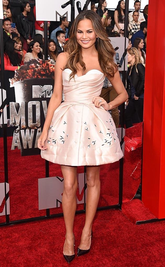 Chrissy Teigen 2014 MTV Movie Awards