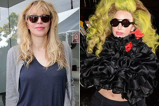 Courtney Love Lady Gaga