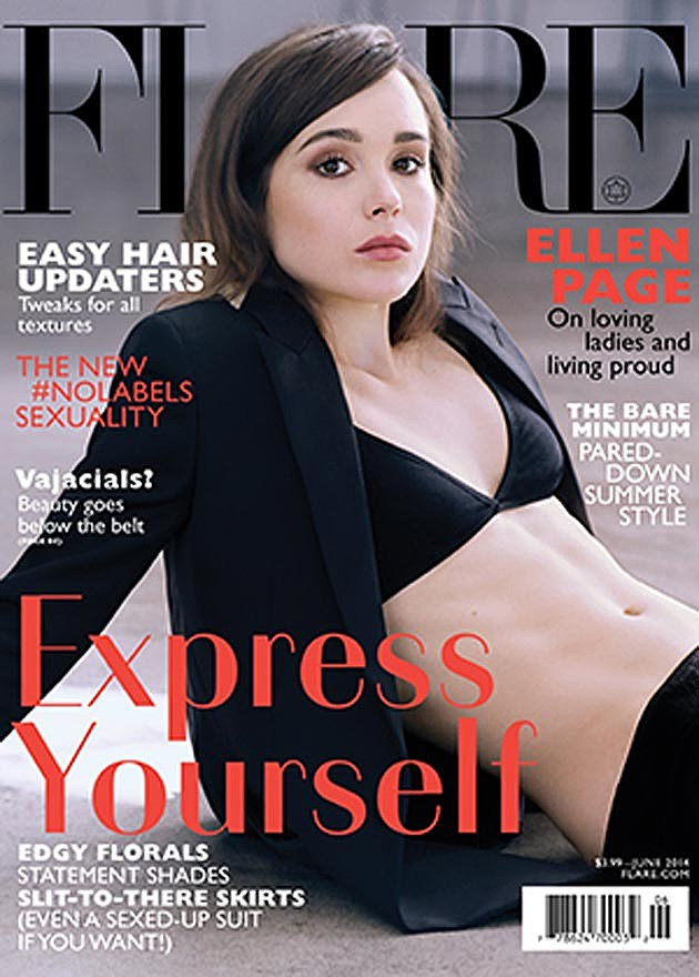 Ellen Page Flare Magazine Cover