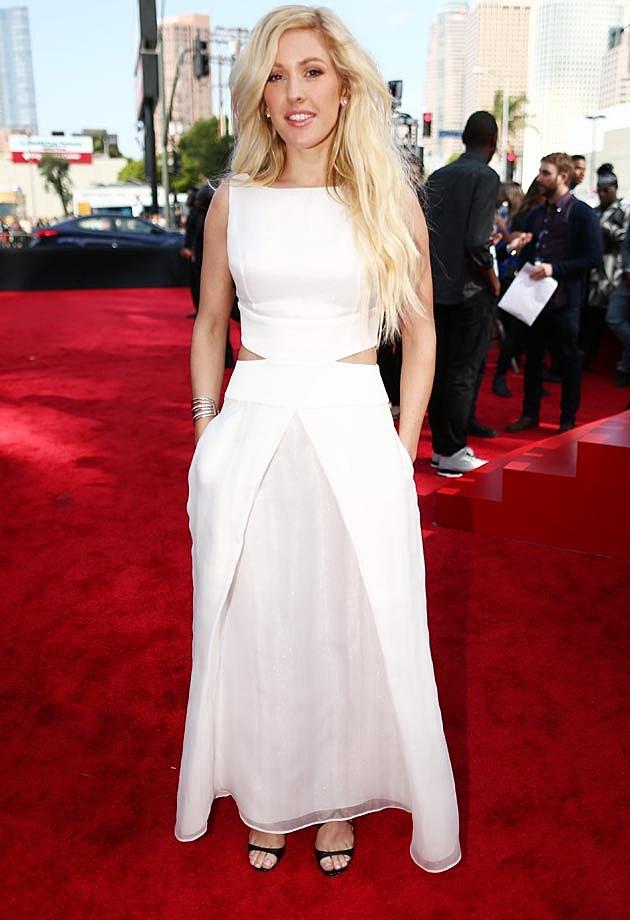 Ellie Goulding Giorgio Armani 2014 MTV Movie Awards