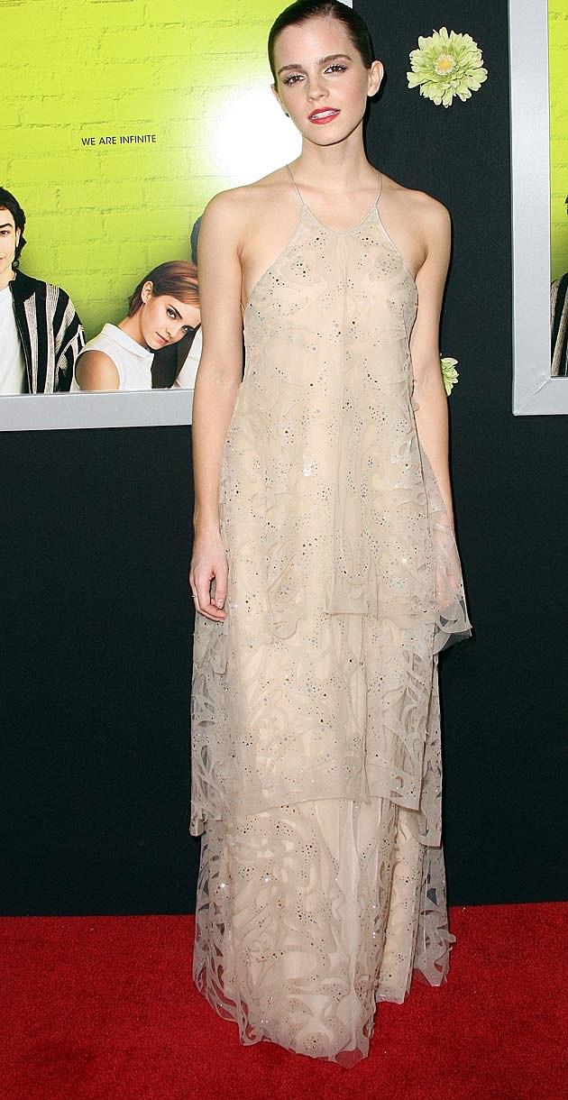 Emma Watson Armani