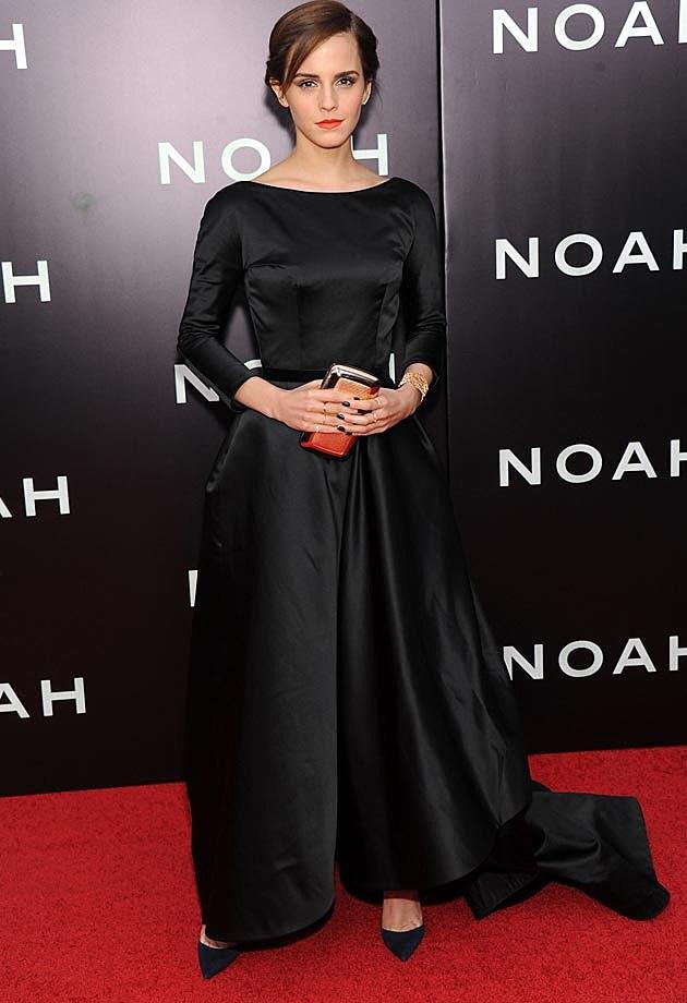 Emma Watson Oscar de le Renta