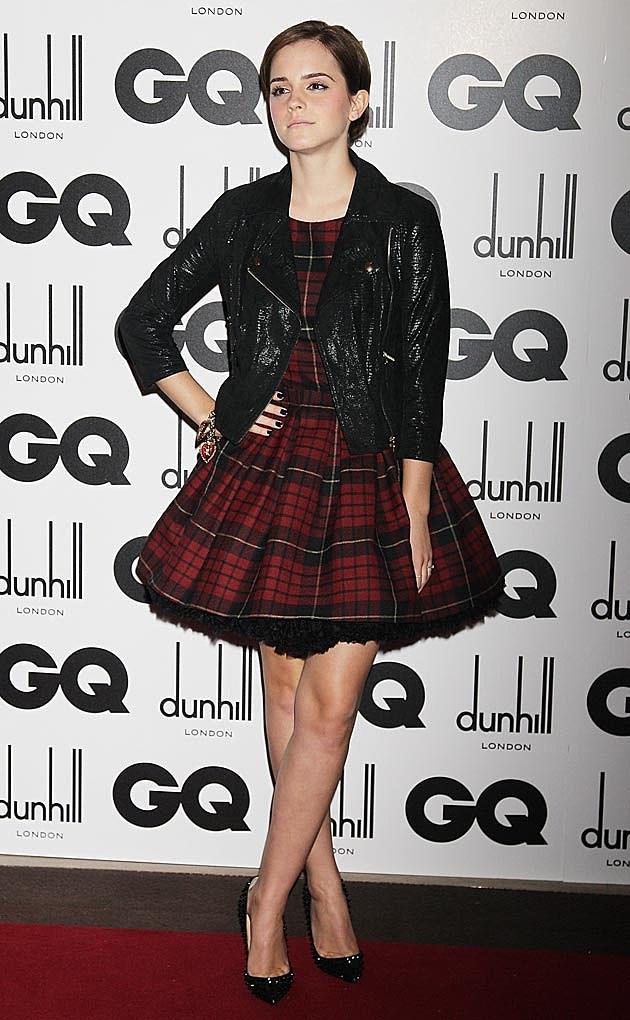 Emma Watson Tartan