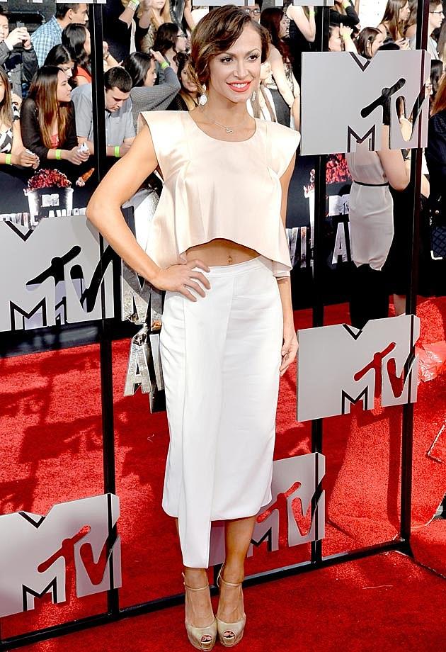 Karina Smirnoff 2014 MTV Movie Awards