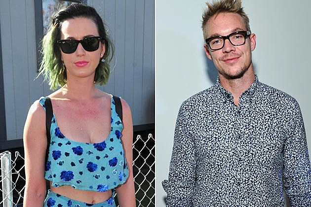 Diplo and Katy Perry
