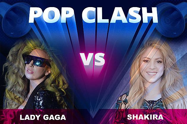 Lady Gaga Shakira