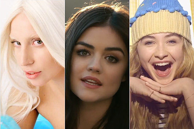 Lady Gaga Lucy Hale Sabrina Carpenter