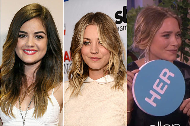 Lucy Hale Kaley Cuoco Mary Kate Olsen